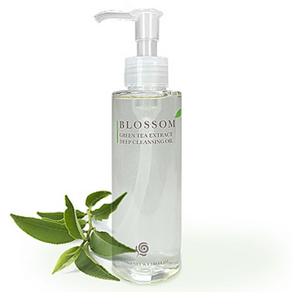 BLOSSOM 綠茶植萃淨白保濕煥采深層潔顏油 (150ML/瓶)