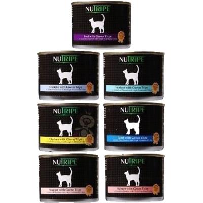 紐萃寶Nutripe 無穀野味貓罐185g 12罐組