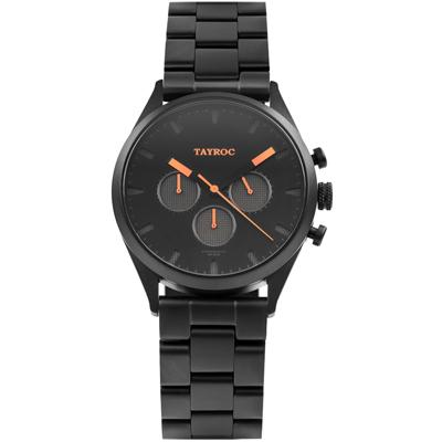 TAYROC 羅霸特三號計時腕錶(TXM015G)-42mm