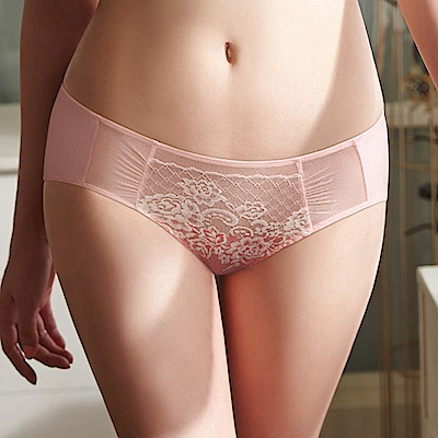 蕾黛絲-涼感小妹大中腰內褲 L-EEL(粉橘)
