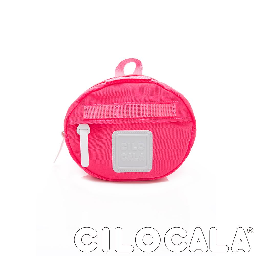 CILOCALA 亮彩尼龍防潑水MINI TAMAGO側背包(小)  櫻花粉色