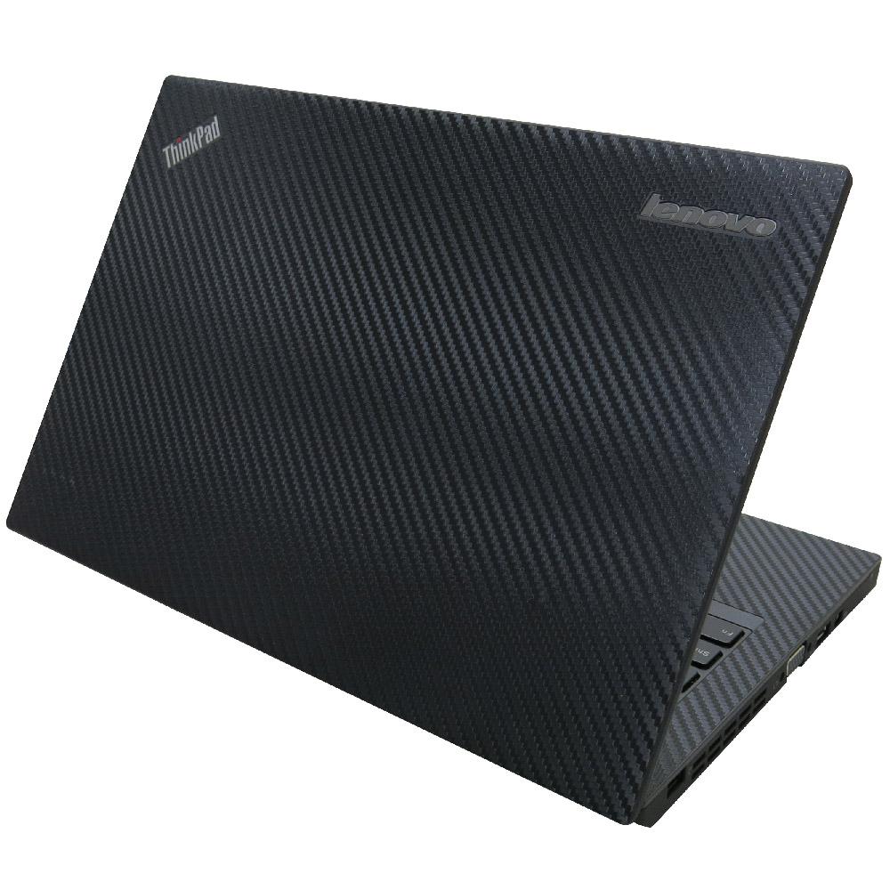 EZstick Lenovo X250 專用 Carbon 黑色立體紋機身貼(DIY包膜)