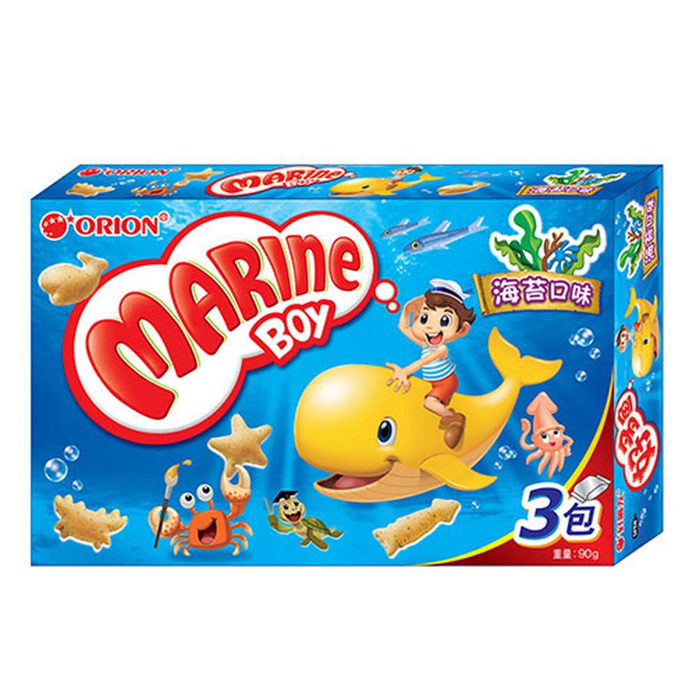 好麗友 好多魚海苔餅乾(90g)