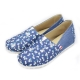 FUFA MIT  牛仔藍質感懶人鞋 (FT03)-小花籃 product thumbnail 1