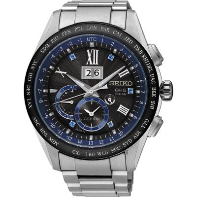 SEIKO精工 Astron 8X42 GPS 限量鈦金屬衛星定位錶(SSE145J1)