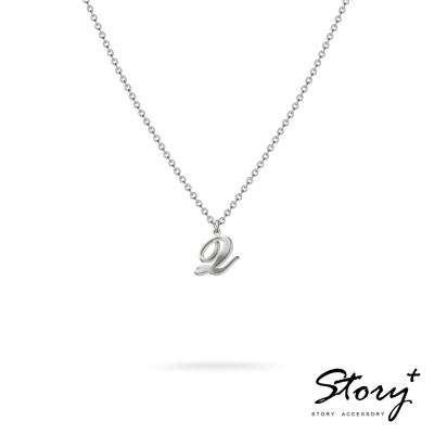 STORY ACCESSORY-字母系列-字母Q 純銀項鍊