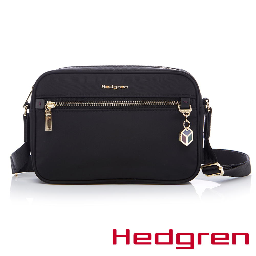 Hedgren-HCHM 魅力系列-側背包(黑色)