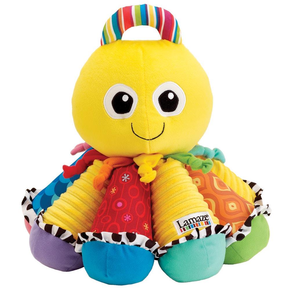 Lamaze拉梅茲嬰幼兒玩具 - 音感八爪章魚