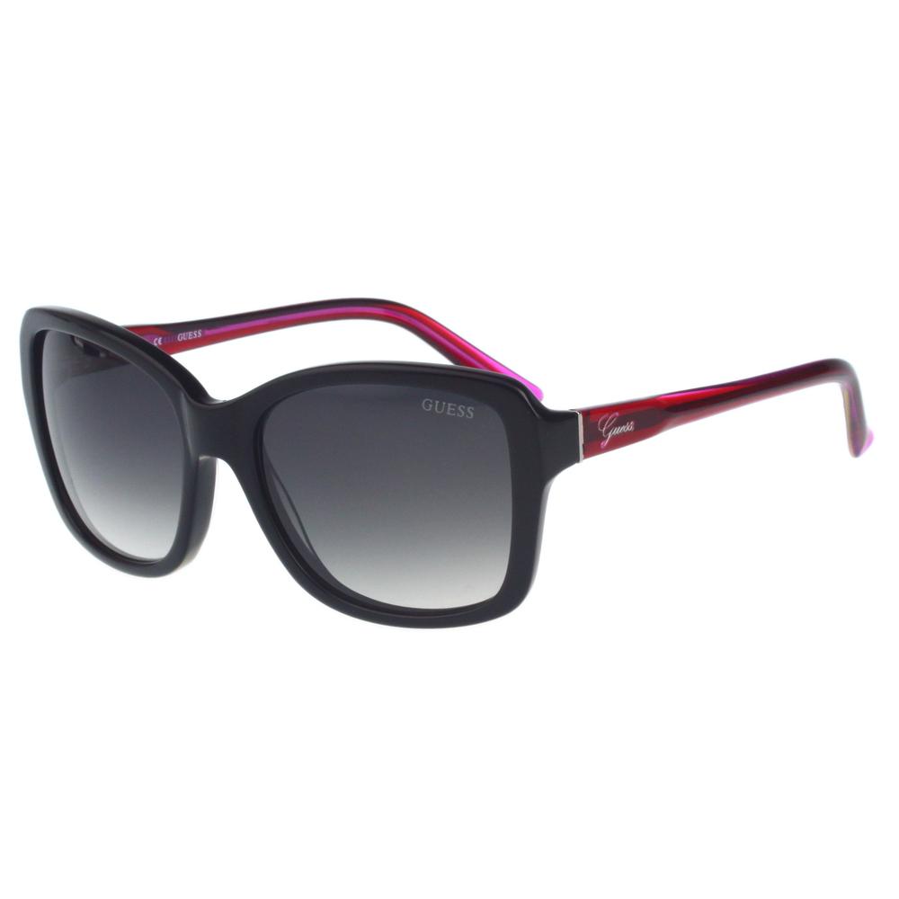 GUESS-時尚個性太陽眼鏡(黑色)