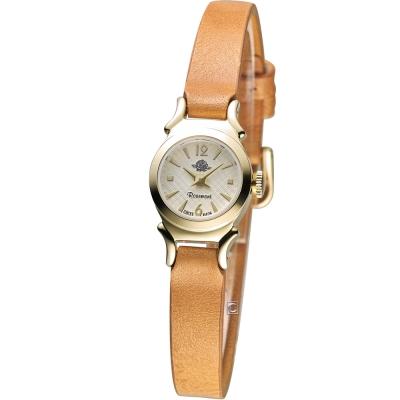 Rosemont 玫瑰米蘭系列時尚錶-咖啡/15mm