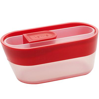 LEKUE-堆疊量匙量杯-紅