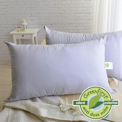 法國Greenfirst天然防螨防蚊系列-LooCa 防螨竹炭枕 輕量型 <b>2</b>入