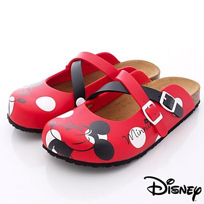 Disney迪士尼-Mickey軟木涼鞋款-FO 64771 紅(女段)