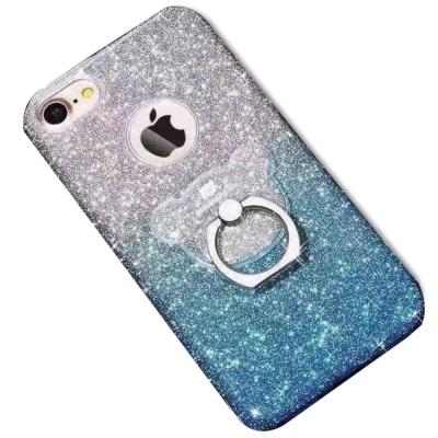 BARANAR IPHONE 7 4.7 水鑽小熊指環扣 手機殼