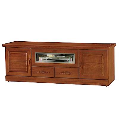 品家居 瑪佩爾5.9尺樟木實木長櫃/電視櫃-178x50x62cm免組
