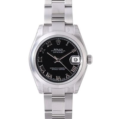 ROLEX 勞力士 Datejust 178240 蠔式恆動日誌型腕錶-黑羅馬/31mm