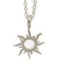 Dogeared 太陽 radiant sun 正面能量 銀色許願項鍊 附原廠盒
