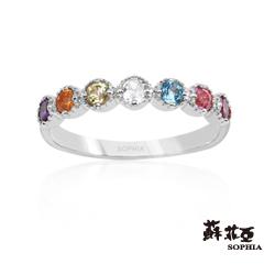 蘇菲亞SOPHIA 日本輕珠寶系列-Lucky Gifts 寶石戒指(共2色)