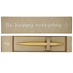 (含刻字)ARTEX life開心中性鋼珠筆Be happy everyday:)