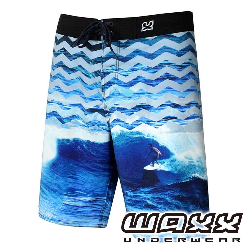 WAXX 熱帶系列-極酷衝浪吸濕排汗男性衝浪褲