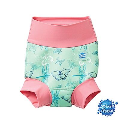 Splash About 潑寶 3D加強版 游泳尿布褲 - 花漾蜻蜓