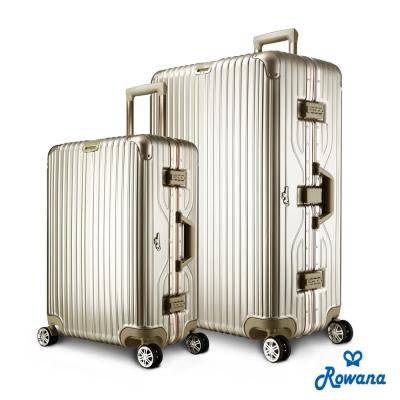 Arowana 儷影晶華25+29吋PC平框旅行箱/行李箱 (鈦金色)