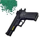 M1911造型6mm彈徑手拉式空氣BB槍+0.25G高精密研磨 BB彈(1KG