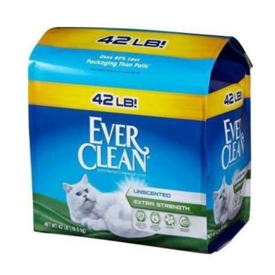 EVERCLEAN 藍標 低過敏結塊貓砂 42LB