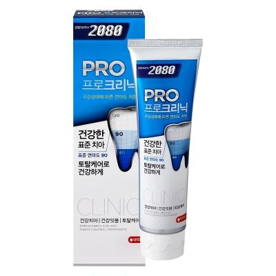 韓國2080 專業亮白牙膏-多效護理(125gX3入)