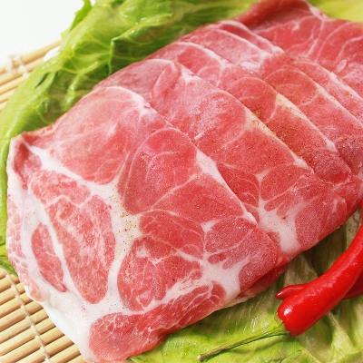 那魯灣台灣肩胛梅花豬肉片20包(245g以上/包)
