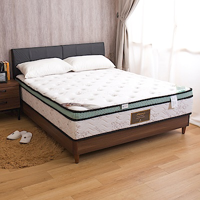 桃樂斯 舒眠乳膠三線全封雙人5尺對流式獨立筒床墊