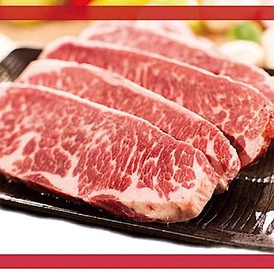 買一送一 好神 美國特選凝脂翼板牛排4片組(約100g+-10%/片《共8片》)