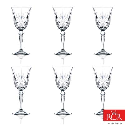 義大利RCR梅洛迪無鉛水晶葡萄酒杯(6入)270cc