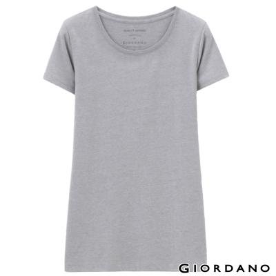 GIORDANO-女裝好感百搭圓領短袖TEE-83