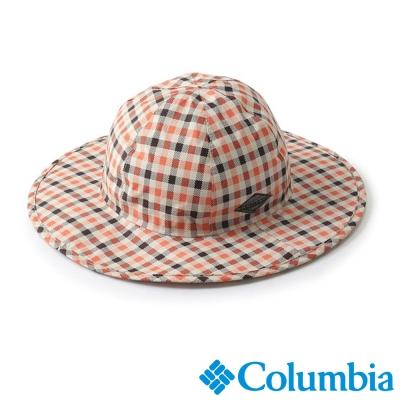 【Columbia哥倫比亞】男女-日版防水快排仕女帽-格紋 UPU52450MC