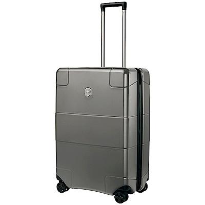 VICTORINOX 瑞士維氏LEXICON硬殼 26 吋行李箱-鈦金屬