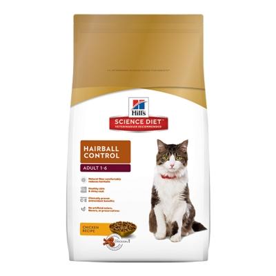 美國希爾思 成貓化毛專用配方 貓飼料 2公斤