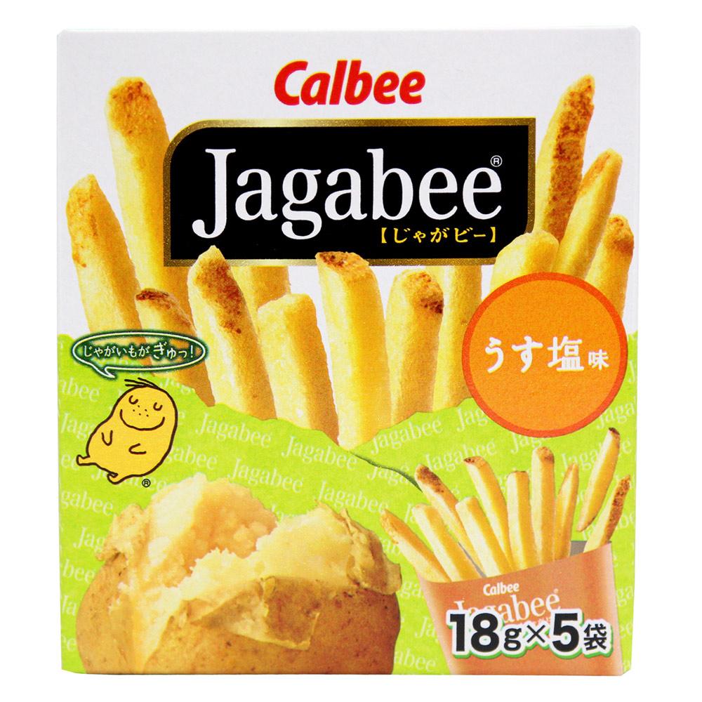 Calbee 日本薯條先生-鹽味(90g)
