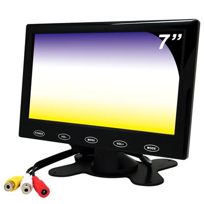 奇巧 雙AV  7 吋LED液晶螢幕顯示器(支援雙AV端子輸入)