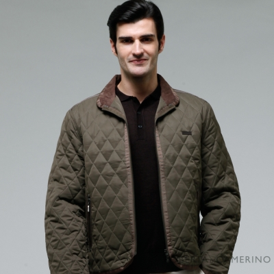 ROBERTA諾貝達 超值嚴選 內裡舖棉 時尚外套 暗綠色
