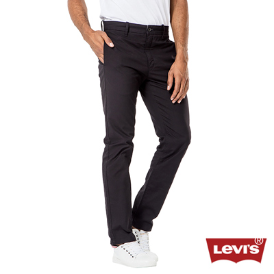 Levis 511 純黑質感修身窄管休閒褲