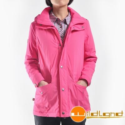 Wildland荒野 0A22901-28珍珠粉 女防水PRIMALOFT保暖外套