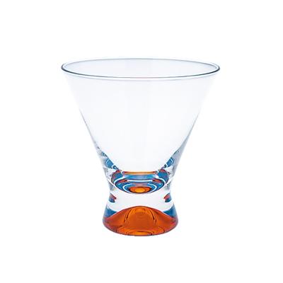 DANSK 幻彩雞尾酒杯(橘色×藍色)