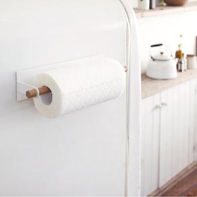 YAMAZAKI tosca磁吸式紙巾架★毛巾架/廚房收納/餐廚收納/居家收納
