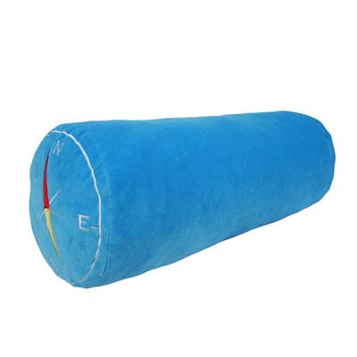 Yvonne Collection羅盤圓筒長抱枕-藍
