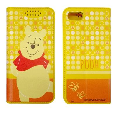 迪士尼正版授權 iPhone 8/iPhone 7 普普風彩繪手機皮套(維尼)