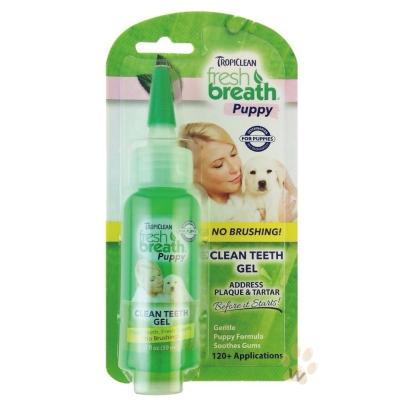 美國Fresh breath『鮮呼吸』潔牙凝膠(幼犬專用)2oz 1入