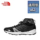 The North Face北面女款黑色吸濕排汗跑步鞋