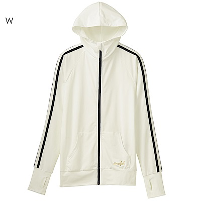 aimerfeel 防曬抗UV連帽外套-白色
