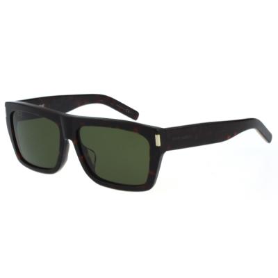 YSL 帥氣方框 太陽眼鏡 (琥珀色)